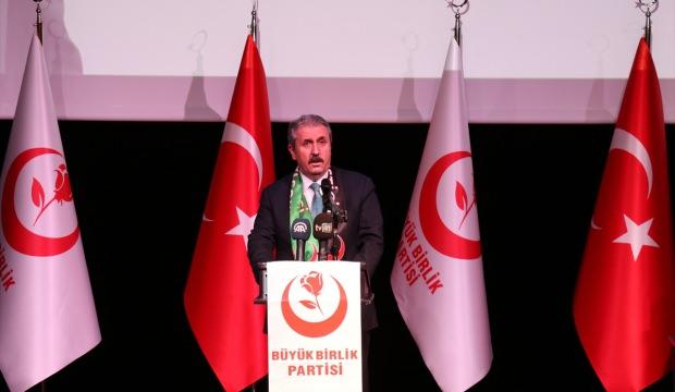 Mustafa Destici: Ordumuz bizim göz bebeğimizdir, peygamber ocağıdır