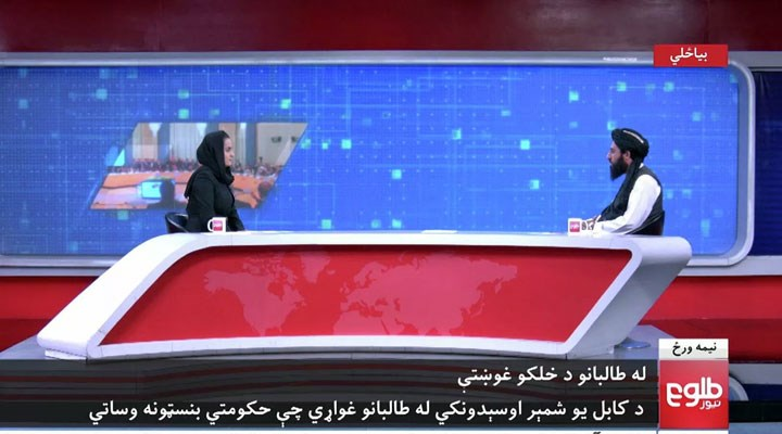 Taliban yetkilisiyle röportaj yapan kadın gazeteci ülkeyi terk etti